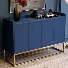 Sideboard Dekor, Kitchen Sideboard, Rustic Sideboard, Sideboard Furniture, Modern Sideboard, Sideboard Cabinet, Furniture Makeover, Home Furniture, Furniture Design