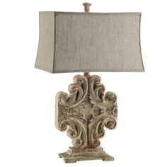 Add a touch of rich Belgian appeal with this traditional design, offering harmonious style for your home d�cor.Product: Table lamp