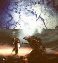 Monstruos Gigantes, Criaturas Fantásticas, Hombre De Acero, Figuras De Goku, Grandes Felinos, Cómics Y Dibujos Animados, Arte Japonés, Animales, Cumpleaños De Godzilla