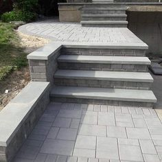 Would you love your entryway to your home to look like this? This walkway features Cambridge Pavingstones with ArmorTec. Installation: Brothers Aluminum