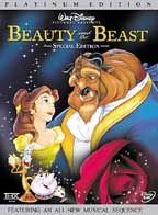 Beauty and the Beast -   Another classic. Another all time fav. I've even seen this with Disney on Ice. Oh, this movie is just magical.
