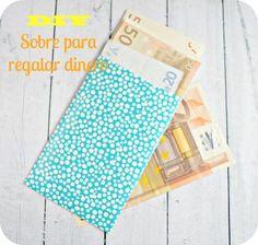 Niña Bonita: DIY: Sobres para regalar dinero #empqtdbonito