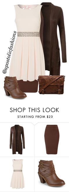 """""""Apostolic Fashions #876"""" by apostolicfashions on Polyvore featuring LE3NO, TFNC, Journee Collection and VIPARO"""