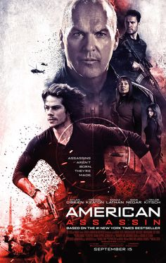 Rating: 5 out of 10 Cast: Dylan O'Brien as Mitch Rapp Michael Keaton as Stan Hurley Sanaa Lathan as Irene Kennedy Shiva Negar as Ann. Film Vf, Film Serie, Michael Keaton, Dylan O'brien, Sanaa Lathan, Top Movies, Movies To Watch, 2017 Movies, Target