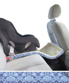 Blake Catchie by Catchie Concepts. The catch-all baby carseat accessory made to keep all of your babies items within arms reach and messes off of your floor! ABC Expo 2015