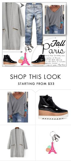 """""""Fall in Paris contest for Polyvore"""" by anne-977 ❤ liked on Polyvore featuring STELLA McCARTNEY, Hollister Co. and fallgetaway"""