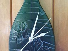 Clock, Butterfly Bottle Clock Unique Presents, Corporate Gifts, Glass Art, Clock, Butterfly, Bottle, Create, Artist, Watch
