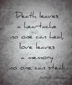 loss of a loved one quotes of comfort - Google Search