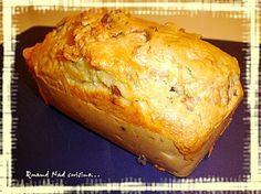 Cake au jambon fumé, aux figues et au saint-marcellin