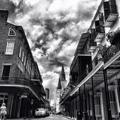 Royal street on a Sunday afternoon. Our skies never cease to put on a show. New Orleans Louisiana @instagram #WHPLocalLens #neworleans #frenchquarter #nola #lovelettersfromneworleans #huffpostgrams #vsco #travelstoke #traveldeeper #tlpicks #mardigras #gabriellegeiselman #skies #royalstreet by gabriellegeiselman