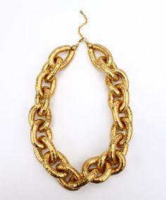 "\""Lalima\"" Goldtone 20\"" Necklace | Necklaces | Shop Bajalia"