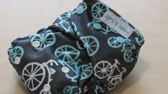 One Size AI2 stay dry charcoal bamboo cloth diaper   by aprilsbaby, $27.00