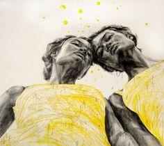 "Saatchi Online Artist Natalie  Waldburger ; Painting, ""Delusions of Miniscule"" #art"