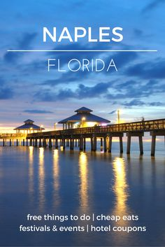 Enjoy a tropical vacation right here in the U.S. - Check out the destination guide to Naples and other major U.S. cities by HotelCoupons.com