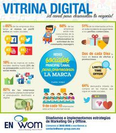 Redes Sociales como principal canal para promocionar la marca #infografia