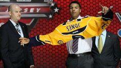 Top defenseman prospect Seth Jones went fourth to the Nashville Predators in the 2013 NHL draft.