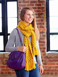 Easy Scarves You Can Knit