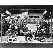 Mens Hats Display In Dept Store Window Reprint Of Photo Mens Hats Display In Dept Store Window Reprint Of Photo Here is a neat collectible featuring a Mens Hats Display In Antique Photos, Old Photos, Vintage Pictures, Store Window Displays, Display Window, Hat Display, Professional Photo Lab, Shopping Street, Store Windows