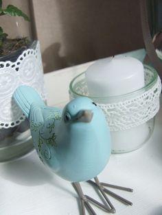 Kerzendeko aus Wurstkonservenglas