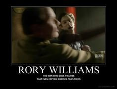 """I watched Captain America right before I watched Let's Kill Hitler, and I was just like, """"Rory does it right!"""""""