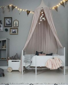 9 Refined Tips: Door Canopy Simple canopy camping shower curtains.Vintage Canopy Crib how to make a canopy life.Canopy Bed Ideas Four Poster. Canopy Over Bed, Kids Canopy, Canopy Bedroom, Baby Bedroom, Baby Room Decor, Nursery Room, Kids Bedroom, Canopy Crib, Manualidades