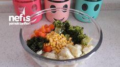 Yoğurtlu Karnabahar Brokoli Salatası - Nefis Yemek Tarifleri - Elizan Grains, Food, Essen, Yemek, Eten, Meals