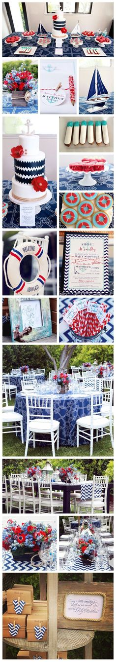 NAUTICAL BABY SHOWER // @christine_fancy @cakestudiola @rafispastry @tictockflorals, photos by @melodymelikian