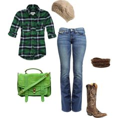Don't like the color of the purse, and the hat doesn't really fit, I'd rather have a cowboy hat. :D