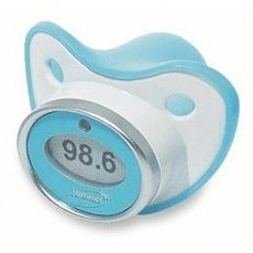 Pacifier Thermometer-I dont even have a baby but this is GENIUS. $13 Great baby shower gift