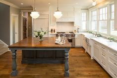Greek Revival Interior Colors   LAKE ELMO GREEK REVIVAL FARMHOUSE farmhouse-kitchen