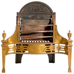 Mid-19th Century Fire Grate