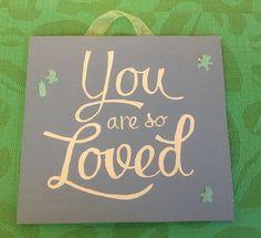 Hand painted wooden plaque www.facebook.com/handpaintedbyp