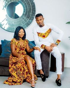 latest Trends styles of African fashion from the fashion houses in the continent, and now with the latest Ankara styles coordinated Pieces for couples. African Fashion Designers, African Men Fashion, Africa Fashion, African Fashion Dresses, African Attire, African Wear, African Women, African Dress, Ankara Fashion