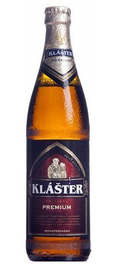 Klášter Premium, Lager 5.1% ABV (Pivovar Klaster, Rep. Checa) [Micromalta]