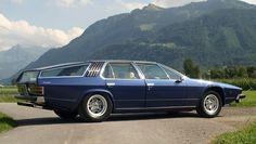 The 1978 Lamborghini Faena - a one-off 4-door variant of the Espada designed by the Italian coach builder Pietro Frua.