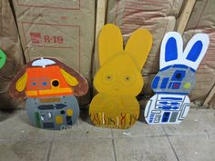 Geek Momma Crafts: Star Wars Easter Display - Check out my blog for more pictures