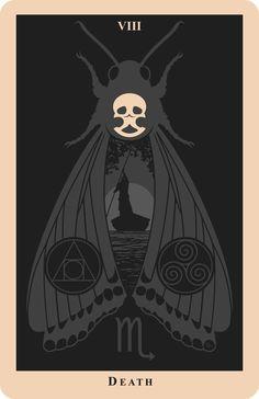Death Tarot Card- If someone knows the artist PLEASE tell me. #tarotcardsart #tarotcardsdiy