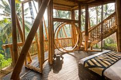 Gallery: These buildings are made of … bamboo?