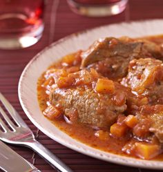 Sautéed veal marengo - the best cooking recipes of elices Party Entrees, Dinner Entrees, Dinner Recipes, Veal Recipes, Cooking Recipes, Healthy Italian Recipes, Healthy Lunches For Work, Dinner Healthy, Carne