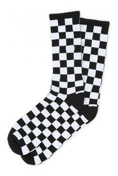 410851347b63 Vans Checkerboard Crew II Men s Sock(6.5-9
