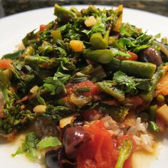 #179 - Moroccan Inspired Broccoli & Chard by katbaro, via Flickr