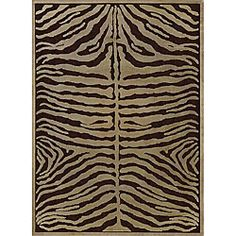 Aura Brown Chenille Rug (75 x 108), $319.99   www.findbuy.co/store/overstock-com #LoloiRugs