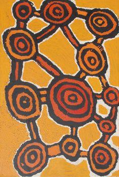 Johnny Yungut Tjupurrula, Untitled, acrylic on linen, 91 x 61 cm.