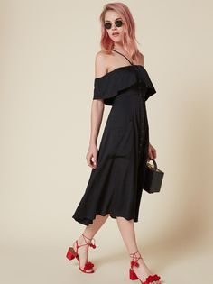 Mina dress black 1 clp