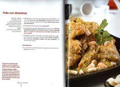 ARCHIVO DE RECETAS THERMOMIX: POLLO CON ALMENDRAS Spanish Food, Mashed Potatoes, Chicken Recipes, Good Food, Vegetables, Cooking, Ethnic Recipes, Tupperware, Diets