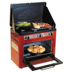 Camp Chef Outdoor Camp Oven with Grill - Propane