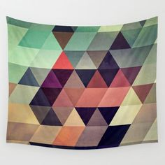 tryypyzoyd Wall Tapestry by Spires