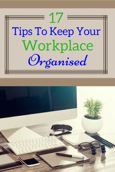 These tips from Asian Efficiency will help keep your desk at home and at work well organised.