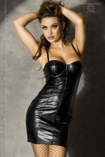 Super hot soft leather like push up balkonette bra clubwear minidress in my store Sexy Outfits, Sexy Dresses, Fetish Fashion, Latex Fashion, Beauty And Fashion, Femmes Les Plus Sexy, Latex Dress, Hot Brunette, Leather Dresses