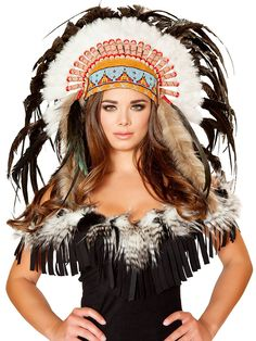 Deluxe Native American Headdress | Wholesale Cowboy/Indian Costume Accessories
